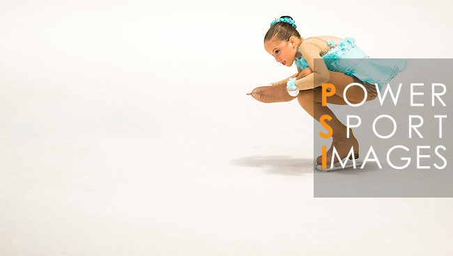 Isabella Mary Amabel Todd of China competes during the Asian Junior Figure Skating Challenge Hong Kong 2016 at Kowloon Tong's Festival Walk Glacier on 03 October 2016, in Hong Kong, China. Photo by Marcio Machado / Power Sport Images