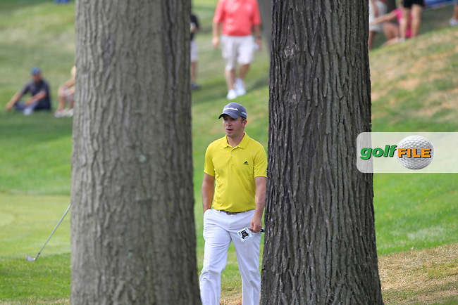Martin Laird (SCO) walks to the 3rd green during Saturday's Round 3 of the 2012 World Golf Championship Bridgestone Invitational at The Firestone Country Club, Akron, Ohio, USA 4th August 2012 (Photo Eoin Clarke/www.golffile.ie)