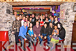 50th: Margaret Hannon Gleeson, Beale,(seated centre) celebrating her 50th birthday in The Exchange Inn, Ballybunion on Saturday night with family members Stephan, Josh, Jessica, Mags, Stefan, Marinela, Beck, Terhas, Sam, Tulsa, & many friends..(Margaret 06841338)