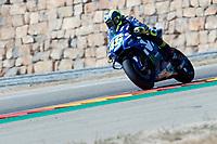 Valentino Rossi (Movistar Yamaha MotoGP) in action during  Gran Prix Movistar the Aragón. 22-09-2018  September 22, 2018.