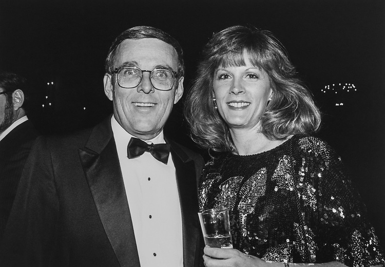 Sen.-elect Byron Dorgan, D-N.D., and wife Kimberly at Peace Links Gala on Dec. 10, 1992. (Photo by Laura Patterson/CQ Roll Call via Getty Images)
