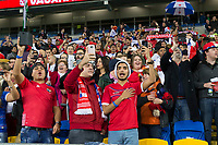 Panama fans ahead of the International Friendly match between Wales and Panama at the Cardiff City Stadium, Cardiff, Wales on 14 November 2017. Photo by Mark Hawkins.
