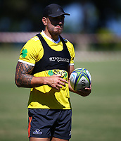 DURBAN, SOUTH AFRICA -Monday February 18th: Sonny Bill Williams of the Blues during the Blues Training at Northwood School Durban North, on February 18th, 2019 in Durban, South Africa. Photo by Steve Haag / stevehaagsports.com