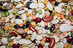 Healthy high protein mixed beans