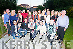 Adam Ryall, Tralee celebrating his 21st birthday with family and friends at Emerald Lodge Oakpark on Saturday