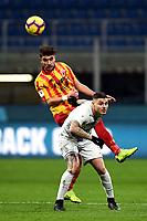 Luca Antei-Mauro Icardi<br /> Milano 13-1-2019 Stadio Giuseppe Meazza <br /> Football Italy Cup 2018/2019 Inter - Benevento <br /> Foto Image Sport  / Insidefoto