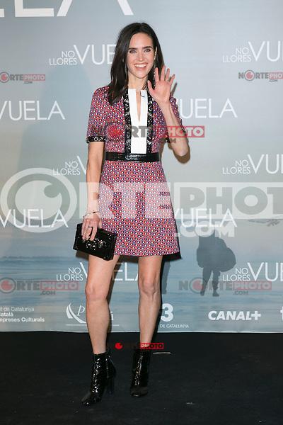 Jennifer Connelly attends Claudia&acute;s Llosa &quot;No Llores Vuela&quot; movie premiere at Callao Cinema, Madrid,  Spain. January 21, 2015.(ALTERPHOTOS/)Carlos Dafonte) /NortePhoto<br /> NortePhoto.com