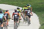 2019 Trentino MTB Challenge - Ride the Nature - 1000 Grobbe Bike Challenge - 100 Km dei Forti  il 09/06/2019 a Lavarone,  Pietra Sarai (Scott Racing Team), Juri Ragnoli (Scott Racing Team) Andrea Righettini (GSC Olympia)<br />  © Pierre Teyssot / Mosna