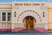 National Tobacco Company Building, Art Deco Style, Napier, north island, New Zealand.