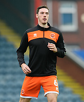 Blackpool's Ben Heneghan during the pre-match warm-up<br /> <br /> Photographer Chris Vaughan/CameraSport<br /> <br /> The EFL Sky Bet League One - Rochdale v Blackpool - Wednesday 26th December 2018 - Spotland Stadium - Rochdale<br /> <br /> World Copyright &copy; 2018 CameraSport. All rights reserved. 43 Linden Ave. Countesthorpe. Leicester. England. LE8 5PG - Tel: +44 (0) 116 277 4147 - admin@camerasport.com - www.camerasport.com
