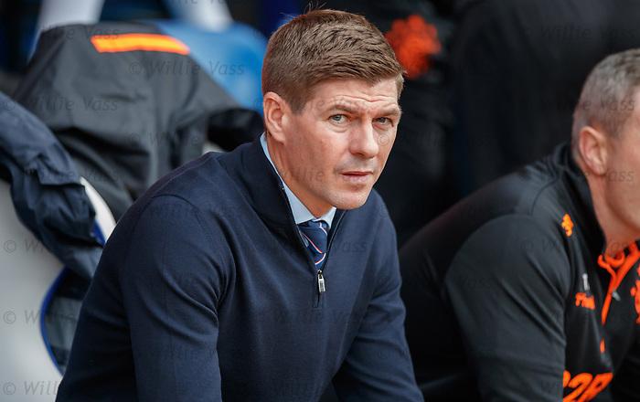 22.09.2019 St Johnstone v Rangers: Steven Gerrard