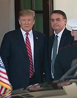 Donald Trump Welcomes Bolsonaro of Brazil