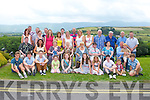 BIRTHDAY TIME: Phil Hussey, Pairc Na Dun, Tralee (seated 5th left) having a great time celebrating her birthday with family and friends at the Ballyroe Heights hotel, Tralee on Sunday.