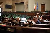 WARSAW, POLAND, December, 2016: Polish opposition MP's from Civic Platform and Modern parties are occupying the Sejm, Polish parliament in protest to the curbing of free press access to the parliament.<br /> (Photo by Polish opposition MP for Piotr Malecki / Napo Images)***** WARSZAWA, 24/12/2016:<br /> Poslowie opozycji podczas okupacji Sejmu.<br /> Fot: Posel opozycji dla Piotra Maleckiego / Napo Images<br /> <br /> <br /> ###ZDJECIE MOZE BYC UZYTE W KONTEKSCIE NIEOBRAZAJACYM OSOB PRZEDSTAWIONYCH NA FOTOGRAFII###