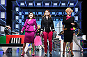 9 to 5 The Musical opens at the Savoy Theatre. Picture shows: Amber Davies (Judy Bernly), Caroline Sheen (Violet Newstead), Natalie McQueen (Doralee Rhodes).