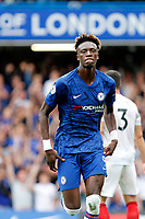 GOAL - Tammy Abraham of Chelsea scores again during the Premier League match between Chelsea and Sheff United at Stamford Bridge, London, England on 31 August 2019. Photo by Carlton Myrie / PRiME Media Images.
