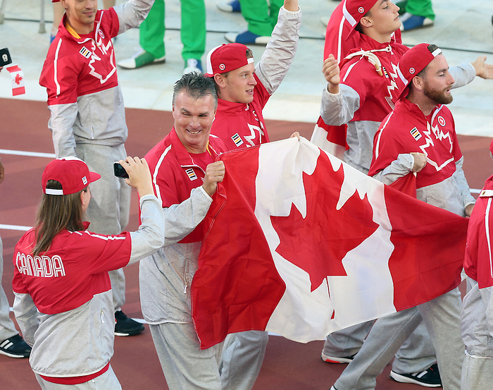 Toronto, Ontario, August 7, 2015. Parapan Am Games in Toronto, Opening ceremony. Photo Scott Grant/Canadian Paralympic Committee
