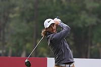 Tommy Fleetwood (ENG) on the 14th tee during Round 1 of the UBS Hong Kong Open, at Hong Kong golf club, Fanling, Hong Kong. 23/11/2017<br /> Picture: Golffile | Thos Caffrey<br /> <br /> <br /> All photo usage must carry mandatory copyright credit     (&copy; Golffile | Thos Caffrey)