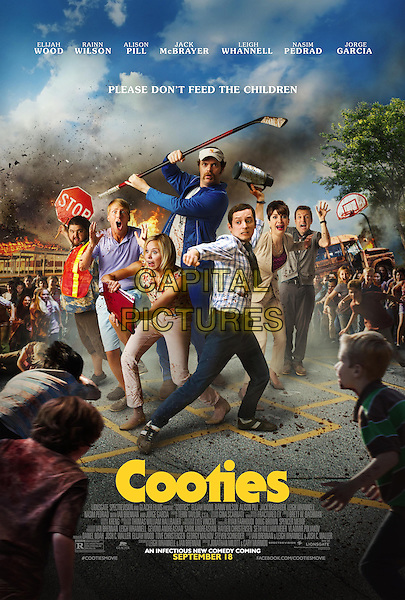 COOTIES (2014)<br /> POSTER ART<br /> *Filmstill - Editorial Use Only*<br /> CAP/FB<br /> Image supplied by Capital Pictures