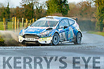 Nagle&Breen in their Fiesta R5, on their way to winning the Galway International Rally, around Athenry last Weekend.