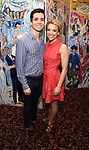 Matt Doyle and Alex Finke attends the 7th Annual Off Broadway Alliance Awards at Sardi's on June 20, 2017 in New York City.