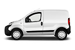 Car driver side profile view of a 2017 Citroen Nemo Business 4 Door Car van
