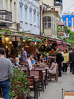 Restaurantstraße Erekle II bei der Kote Apkhazi, Tiflis – Tbilissi, Georgien, Europa<br /> restaurant street Erekle II near Kote Abkhazi,, Tbilisi, Georgia, Europe