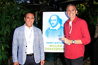 LOS ANGELES - APR 9: Louie Anchondo, Scott Mauro at The Actors Fund's Edwin Forrest Day Party and to commemorate Shakespeare's 453rd birthday at a private residence on April 9, 2017 in Los Angeles, California