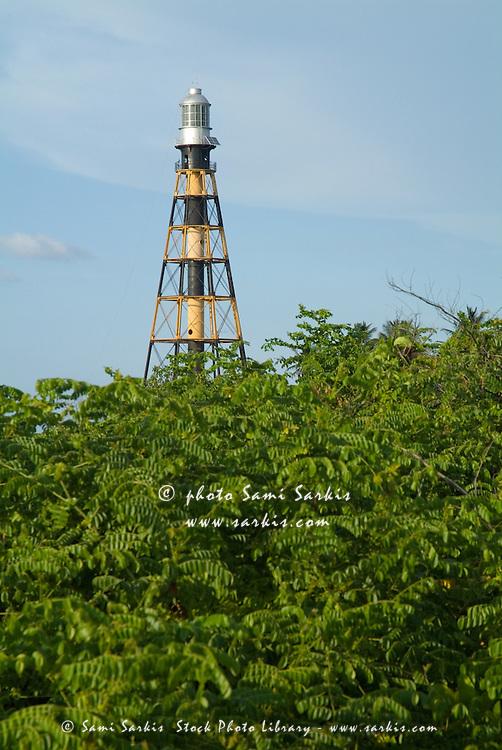 Lighthouse, Cayo Jutias, Cuba.