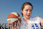 HOOPS STAR: Louise O'Connor from Currow who has been selected on the irish Under 15 Basketball Panel for the 2008 European Basketball Championships.