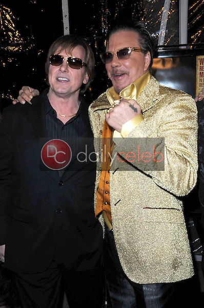 Roddy Piper and Mickey Rourke <br /> at the Los Angeles Premiere of 'The Wrestler'. The Academy Of Motion Arts &amp; Sciences, Los Angeles, CA. 12-16-08<br /> Dave Edwards/DailyCeleb.com 818-249-4998