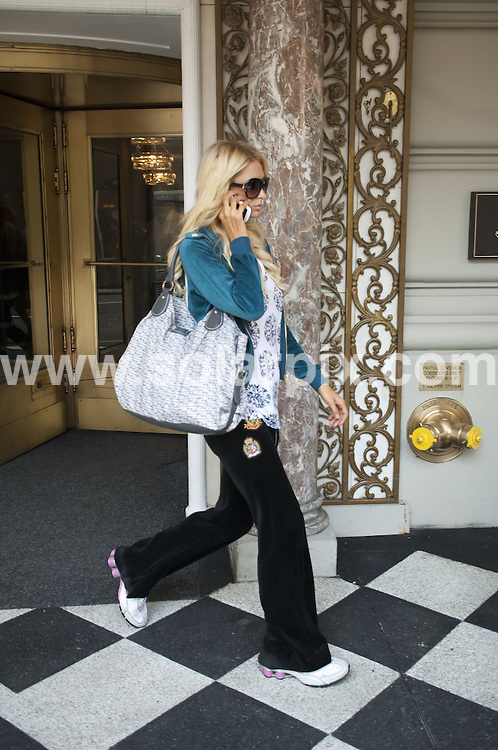 **ALL ROUND PICTURES FROM SOLARPIX.COM**                                             **SYNDICATION RIGHTS FOR UK, AUSTRALIA, DENMARK, PORTUGAL, S. AFRICA, SPAIN & DUBAI (U.A.E) & ASIA (EXCLUDING JAPAN) ONLY**                                                                                  Caption:  Paris Hilton Leaving The Pierre Hotel in New York, USA. June 1, 2011                                                                             This pic: Paris Hilton                                                                                             JOB REF: 13480 PHZ Bosch      DATE: 01_06_2011                                                           **MUST CREDIT SOLARPIX.COM OR DOUBLE FEE WILL BE CHARGED**                                                                      **MUST AGREE FEE BEFORE ONLINE USAGE**                               **CALL US ON: +34 952 811 768 or LOW RATE FROM UK 0844 617 7637**