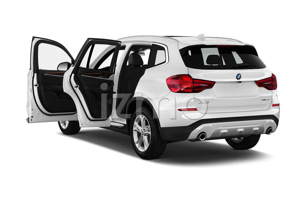 Car images close up view of a 2019 BMW X3 Base 5 Door SUV doors
