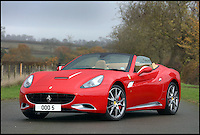 BNPS.co.uk (01202 558833)<br /> Pic: H&amp;H/BNPS<br /> <br /> 2012 Ferrari California with only 500 miles on the clock - &pound;110,000.<br /> <br /> The &pound;1,000,000 garage sale... a stunning collection of luxury cars seized from the personal collection of a Middle Eastern sheikh has emerged. <br /> <br /> The impressive fleet, comprising Ferrari, Rolls-Royce and Bentley motors, has arrived at auction following a high court ruling against their former owner.<br /> <br /> Due to their unusual history many of the cars, all of which were UK based and have unusually low mileages, are being offered at a bargain price.