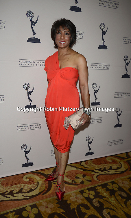 Carolyn Folks attends the Academy Of Television Arts & Science Daytime Programming  Peer Group Celebration for the 40th Annual Daytime Emmy Awards Nominees party on June 13, 2013 at the Montage Beverly Hills in Beverly Hills, California.