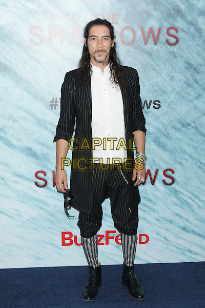 NEW YORK, NY - JUNE 21: Oscar Jaenada  attends 'The Shallows' World Premiere at AMC Lincoln Square on June 21, 2016 in New York City. <br /> CAP/MPI99<br /> &copy;MPI99/Capital Pictures