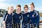 Flesk Valley rowers Edel Sweetman, Roisin Wall, Caoimhe Crowley and Klara O'Donoghue  at the Killorglin Head of the River on Saturday