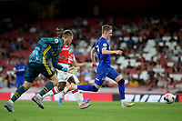 Anthony Gordon of Everton bursts through the Arsenal defence to score their second goal during Arsenal Under-23 vs Everton Under-23, Premier League 2 Football at the Emirates Stadium on 23rd August 2019