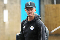 Leicester City's James Maddison arrives at Turf Moor ahead of kick-off<br /> <br /> Photographer Rich Linley/CameraSport<br /> <br /> The Premier League - Burnley v Leicester City - Saturday 16th March 2019 - Turf Moor - Burnley<br /> <br /> World Copyright © 2019 CameraSport. All rights reserved. 43 Linden Ave. Countesthorpe. Leicester. England. LE8 5PG - Tel: +44 (0) 116 277 4147 - admin@camerasport.com - www.camerasport.com