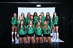 DENTON, TX - AUGUST 07: Mean Green Volleyball Head Shots at Apogee Stadium in Denton on August 7, 2018 in Denton, Texas. (Photo by Rick Yeatts)