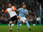 Ismaily of Shaktar Donetsk tackled by Kyle Walker of Manchester City during the Champions League Group F match at the Emirates Stadium, Manchester. Picture date: September 26th 2017. Picture credit should read: Andrew Yates/Sportimage