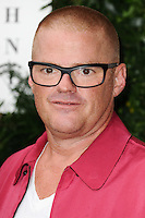 Heston Bumenthal<br /> arrives for the One for the Boys charity fashion event at the V&amp;A Museum, London.<br /> <br /> <br /> &copy;Ash Knotek  D3133  12/06/2016