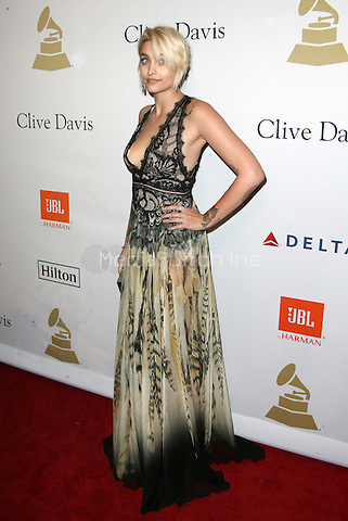 Beverly Hills, CA - February 11: Paris Jackson, At Pre-GRAMMY Gala and Salute to Industry Icons Honoring Debra Lee, At The Beverly Hilton Hotel In California on February 11, 2017. Credit: Faye Sadou/MediaPunch