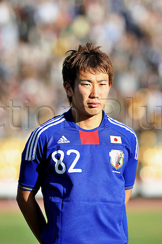 Kazuma Watanabe (JPN), JANUARY 6, 2010 - Football : 2011 AFC Asian Cup Qualifiers match between Yemen 2-3 Japan at the al-Merisi stadium in San'a, Yemen, Photo by Jinten Sawada/Actionplus. Editorial Licenses Only.