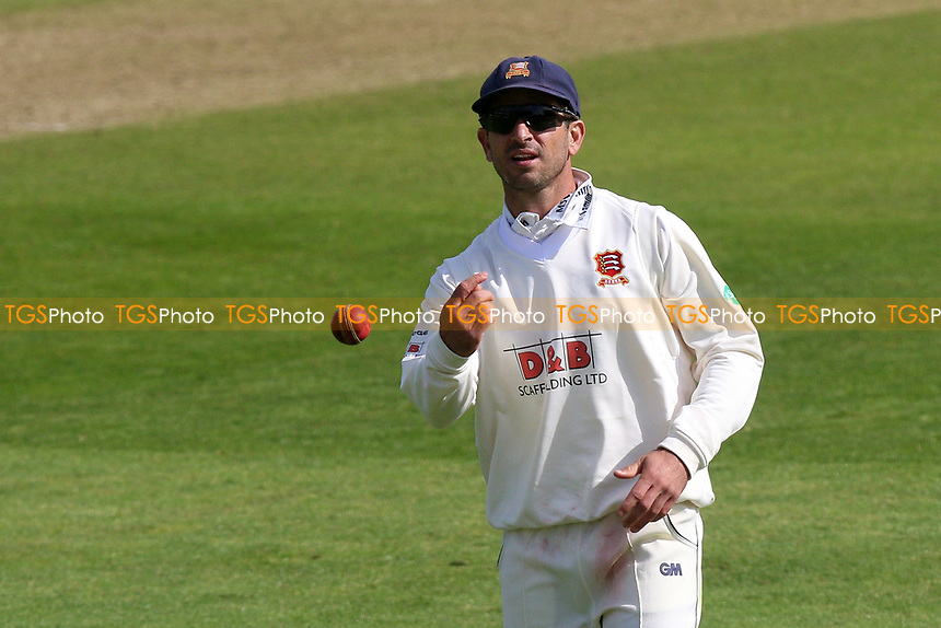 Ryan ten Dopeschate of Essex during Somerset CCC vs Essex CCC, Specsavers County Championship Division 1 Cricket at The Cooper Associates County Ground on 15th April 2017
