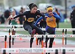 Images from the Big George Invitational track meet at Douglas High School in Minden, Nev., on Saturday, April 25, 2015. <br /> Photo by Cathleen Allison
