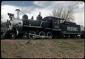RGS #20 displayed at Colorado Rail Road Museum.<br /> RGS  Golden, CO  Taken by Dorman, Richard L. - ca. 1970