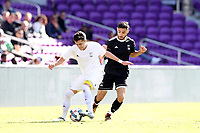 Orlando, Florida - Monday January 15, 2018: Chris Lema and Alex Roldan. Match Day 2 of the 2018 adidas MLS Player Combine was held Orlando City Stadium.