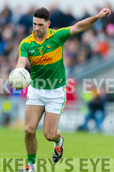 Dr Crokes in action against Bryan Sheehan South Kerry in the Senior County Football Final in Austin Stack Park on Sunday
