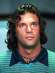 Man of mystery Marco Negri arrives at Ibrox to sign for the Glasgow club